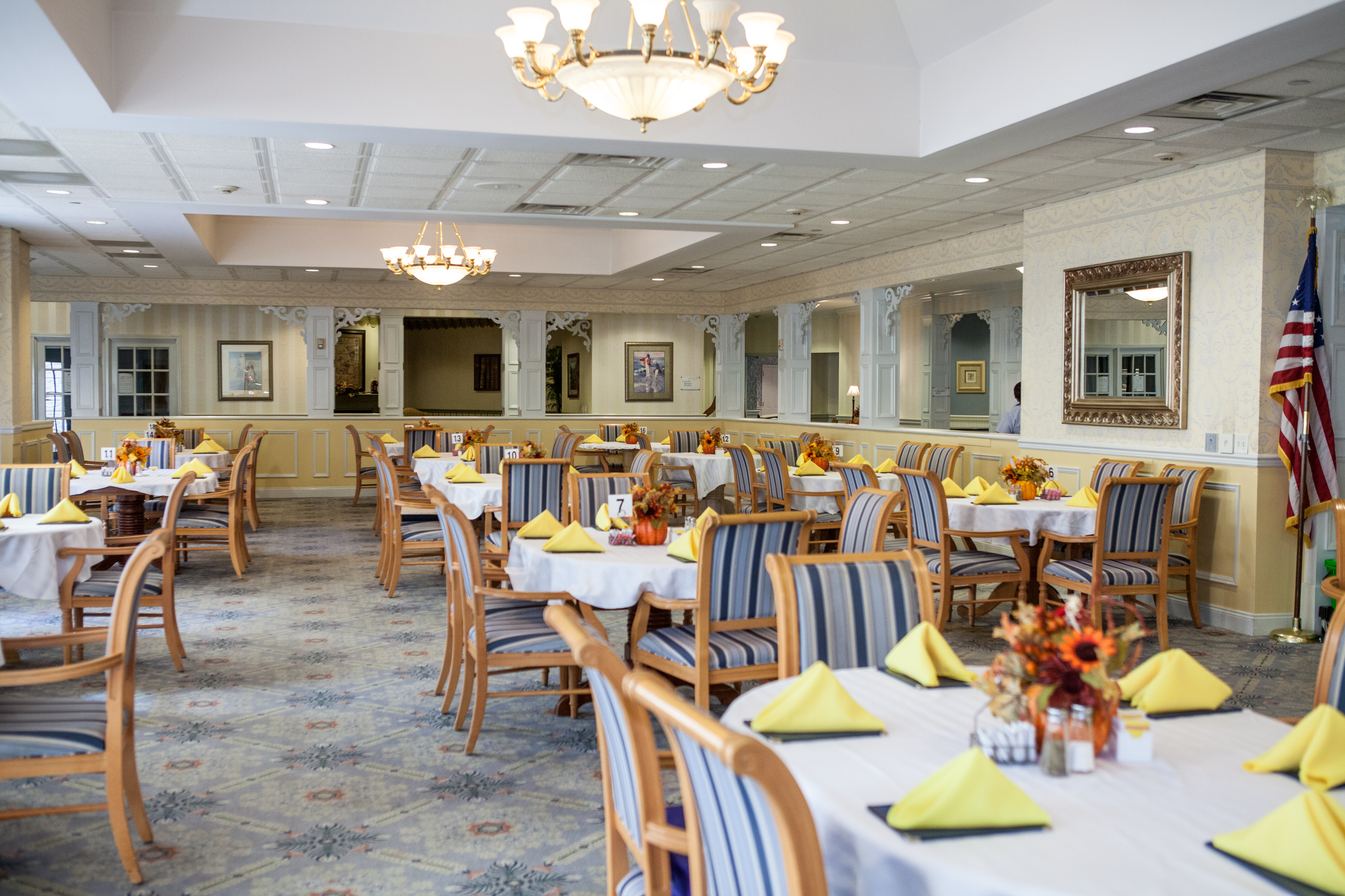 Dining Room at Van Dyk Health Care at Park Place