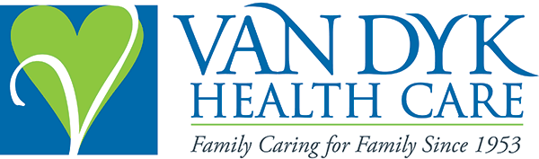 Van Dyk Health Care logo